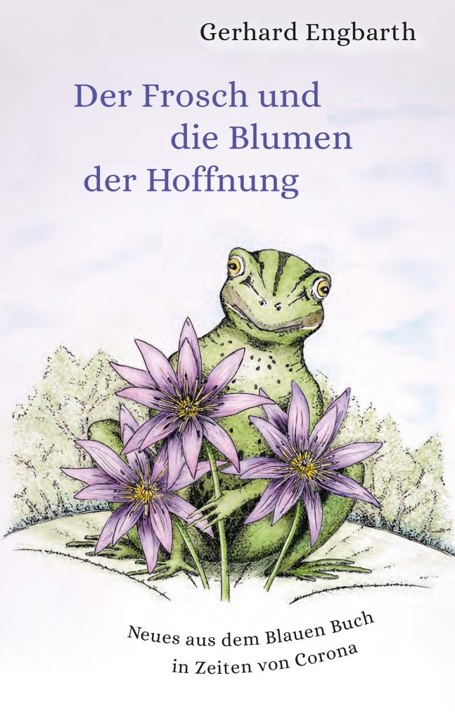 """Buchcover """"Der Frosch und die Blumen der Hoffnung"""""""